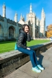 Katong Tutor Yuet Ling in Cambridge University, King's College, UK.