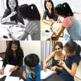 Our Punggol tutors in action. We are all hands-on when it comes to teaching.