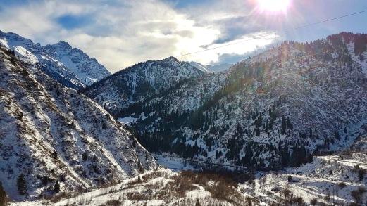 Almaty Tian Shan Kazakhstan